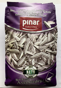 Pinar Roasted and Extra Salted Seeds- 300gr - Turkish Mart