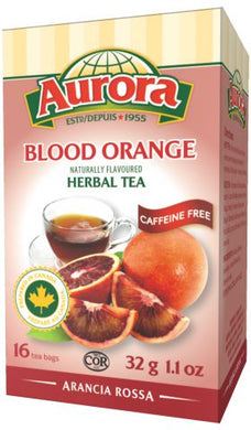 Aurora Blood Orange Herbal Tea 32gr