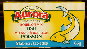 Aurora Bouillon Mix Fish 66gr