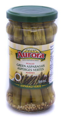 Aurora Seasoned Green Asparagus 314ml