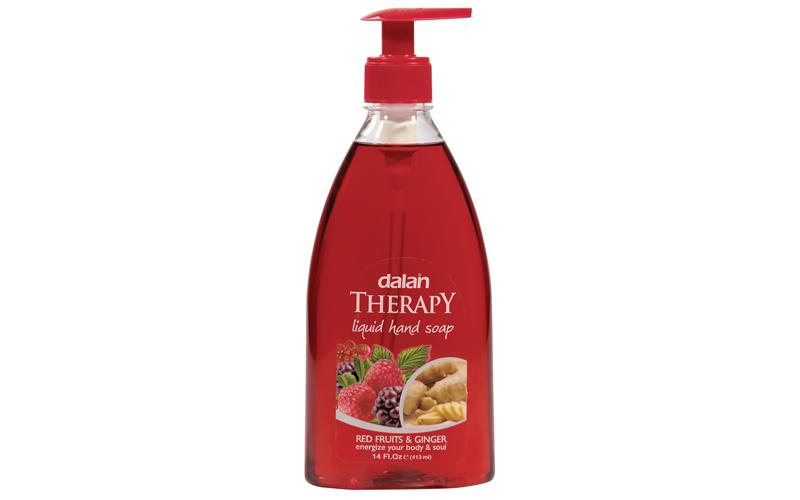 Dalan Therapy Liquid Hand Olive Oil Soap- Red Fruits and Ginger 400ml