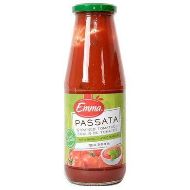 Emma Strained Tomato Sauce With Basil 720ml