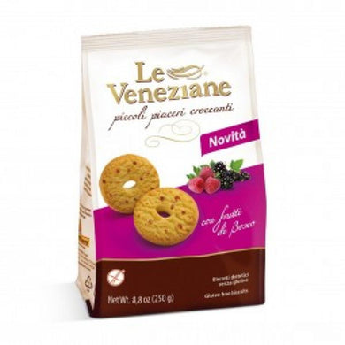 Le Veneziane Biscuits With Forest Fruits 250gr