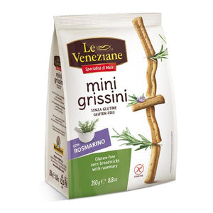 Le Veneziane Mini Grissini With Rosemary 250gr