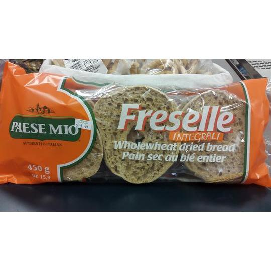 Paese Mio Freselle Whole Wheat Dried Bread 450gr