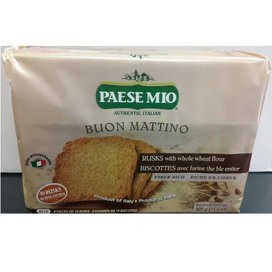 Paese Mio Rusks 320gr