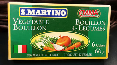 S.Martino Vegetable Bouillon 66gr