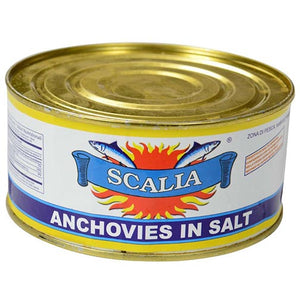 Scalia Anchovies In Salt 645gr