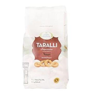 "Terre Di Puglia ""Hot chili Pepper"" Taralli - 250gr   *** VEGAN ***"