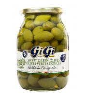 Gigi Sweet Green Olives 1L