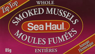 Sea Haul Whole Smoked Mussels - 85g
