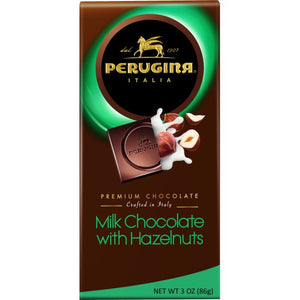 "Perugina Premium Milk Chocolate ""With Hazelnuts"" -86gr  *** GLUTEN FREE ***"