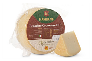 "OUT OF STOCK **** Maiorano Pecorino Crotonese DOP ""Premium Italian Cheese"" - 1100g"