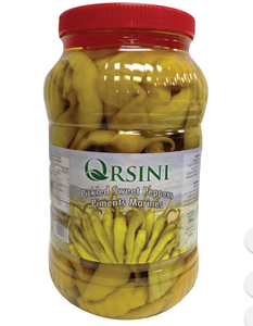 "Orsini Sweet Pepper Pickles ""Tatli Biber Tursusu"" PROBIOTIC - 3kg - PET - Turkish Mart"