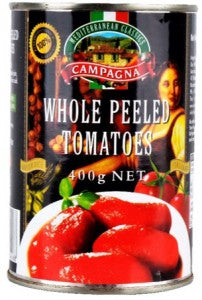 SALE Campagna Whole Peeled Tomatoes  - 400g - TIN