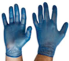 "HRay vinyl disposable gloves ""powder free - single use only "" SMALL ""  - 100pc/box  ***OUT OF STOCK***"