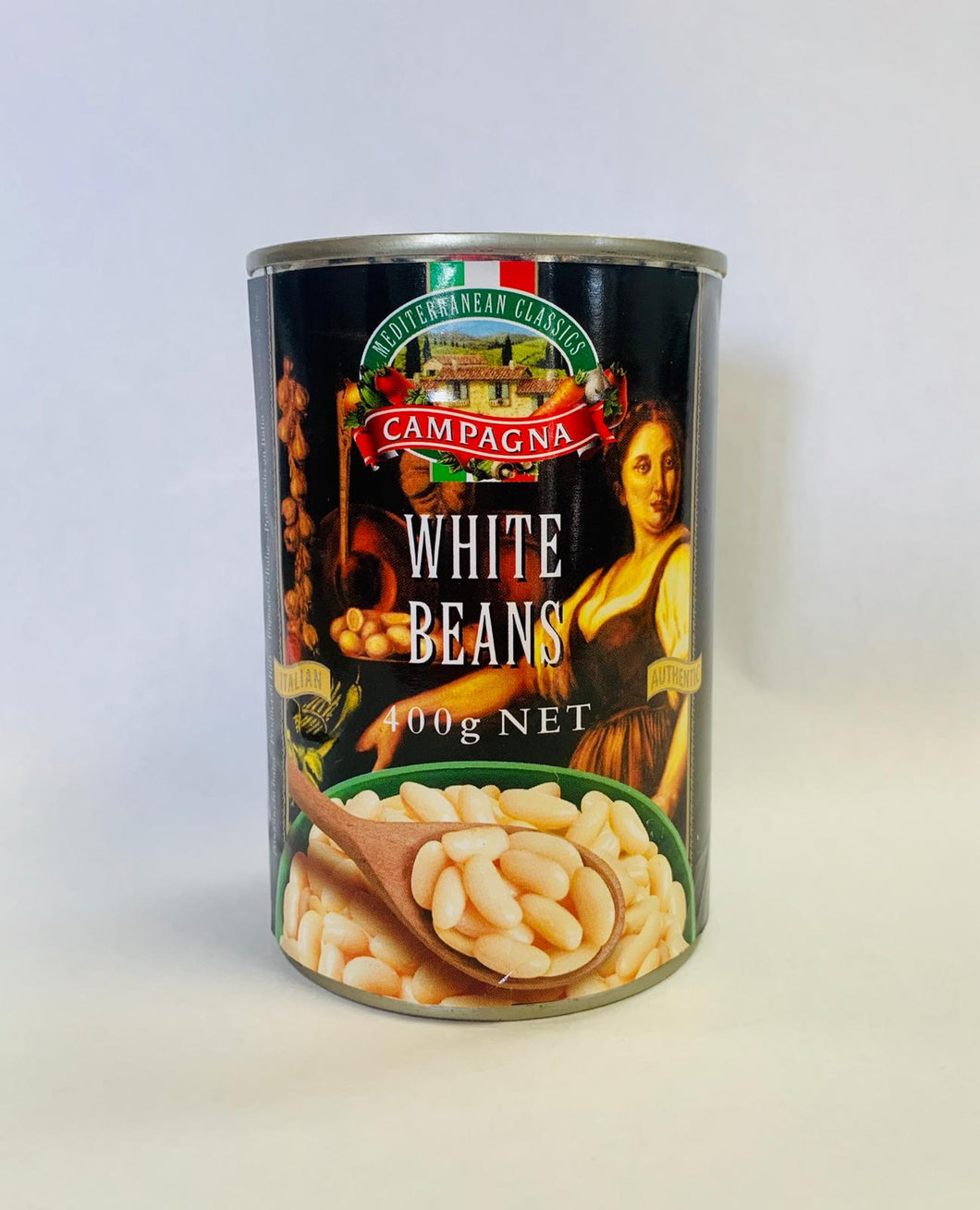 Campagna White Beans 400g - Turkish Mart