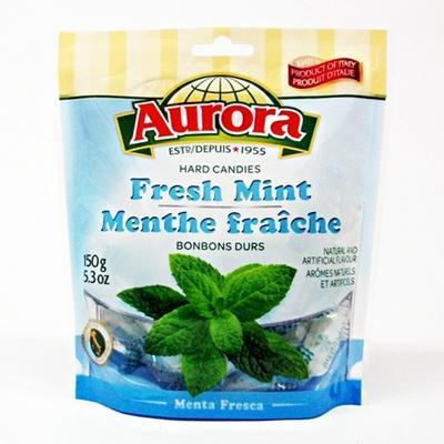 Aurora Hard Candies with Fresh Mint 150g