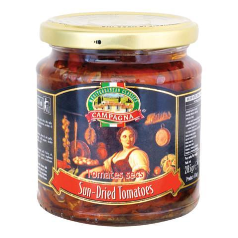 Campagna Sun-Dried Tomatoes in olive oil - 680g & 1600g - Turkish Mart