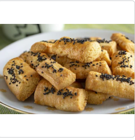 SALE Finger cookies with black caraway - 300g