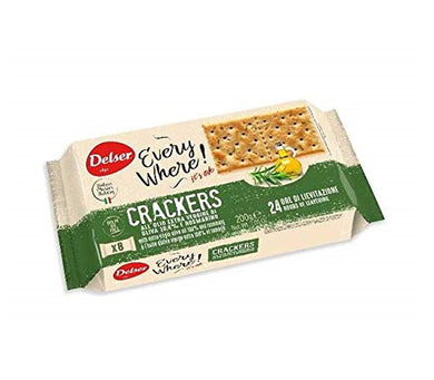 Delser Extra Virgin Olive Oil Crackers - 200g