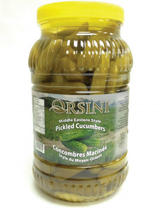 "Orsini ""Middle Eastern Style"" Pickles Cucumber 3kg - PET"