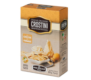 Crostini Italian Crackers with Cheese -  200g