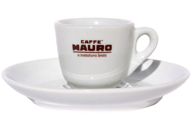 Mauro Ceramic Espresso Cups / Saucers (6/set)