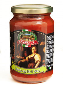 "Campagna ""tomato and basil""  sauce - 350g - Turkish Mart"