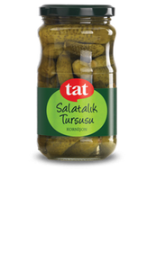 Tat Cornichon Pickles - 1.5 kg - Turkish Mart