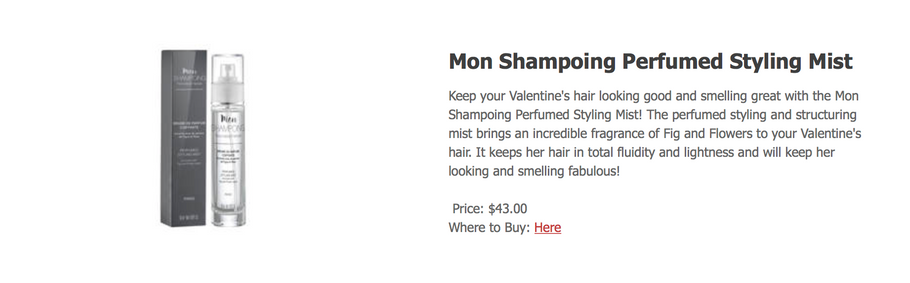 urbanmilan.com/valentines-day-gifts-for-her-2018 / Mon Shampoing