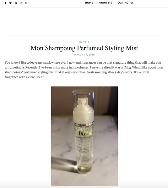 beautylovesbooze.com / mon-shampoing-perfumed-styling-mist
