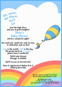 image relating to Oh the Places You'll Go Balloon Printable Template called Scorching Air Balloon Template Dr Seuss Fashionsneakers.club