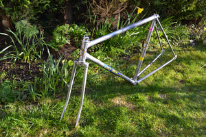 How to Clean a Vintage Steel Bike Frame