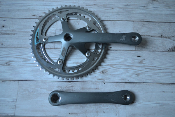 SR Roundtech GXC Alloy Crankset Steel Chainrings 170mm 52 42T