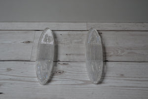Talmu SR600 White Spoke Mounted Reflectors Pair