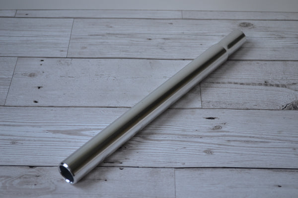 raleigh alloy 12 inch x 1 inch seat post 25.4mm x 300mm pin gfs100 volendo north