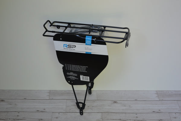 "Steel Rear Pannier Rack 26"" - 700C"
