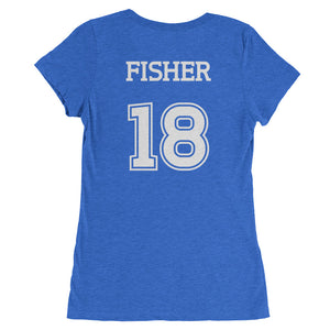 Women's Team Will T-Shirt: Will Fisher Logo (White)