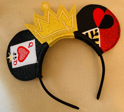 Queen of Hearts Head Band