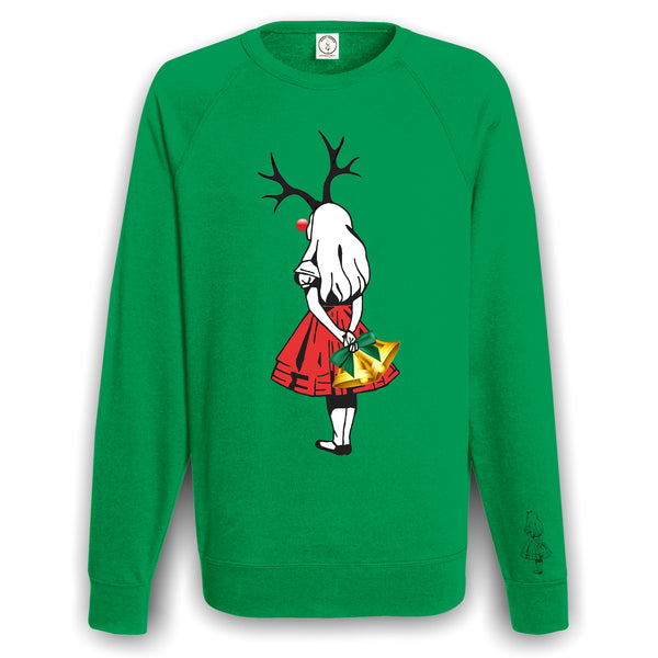 Unisex Alice Reindeer Christmas Sweater