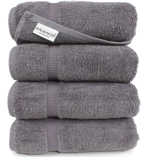 SALBAKOS Luxury Hotel & Spa Turkish Cotton Eco-Friendly Bath Sheets, Towels, and Sets