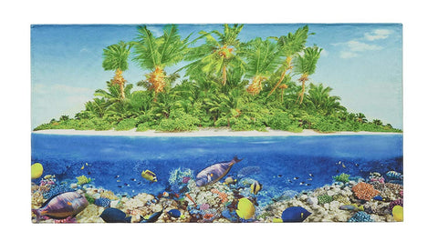"SALBAKOS Oversized Cotton Beach Towel- Fast Drying Lightweight Beach Blanket - Colorful Printed Velour Made with 100% Cotton, 40"" x 70"", Several Beautiful Designs to Choose From"