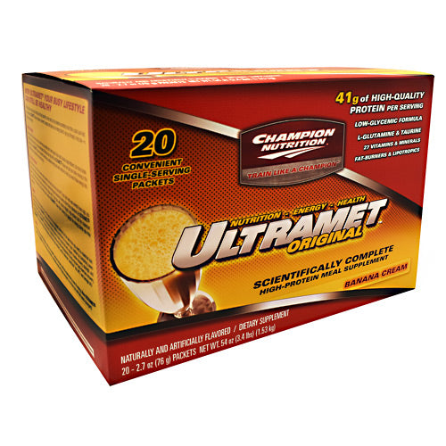 Champion Nutrition Ultramet Original 20 Servings