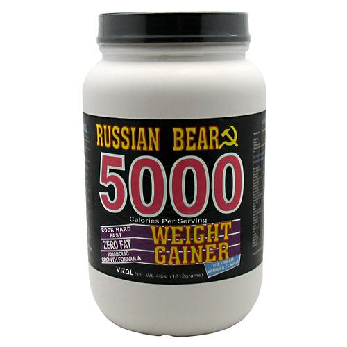 Vitol Russian Bear 5000 Weight Gainer 4lb