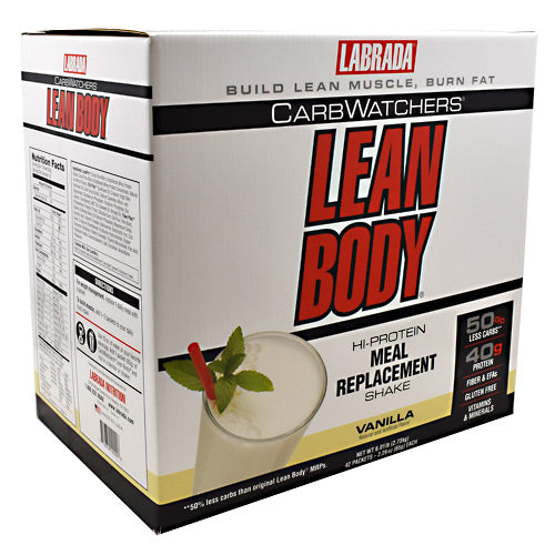 Labrada Nutrition Carb Watchers Lean Body 42 Servings