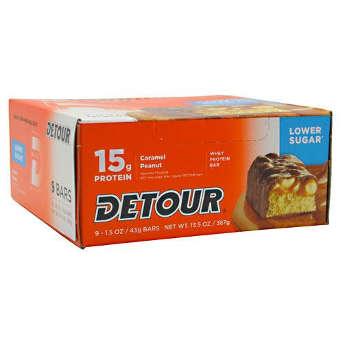 Forward Foods Detour Low Sugar Whey Protein Bar 9 Servings