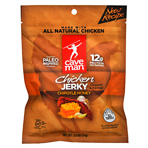 Caveman Foods Chicken Jerky 2.5oz