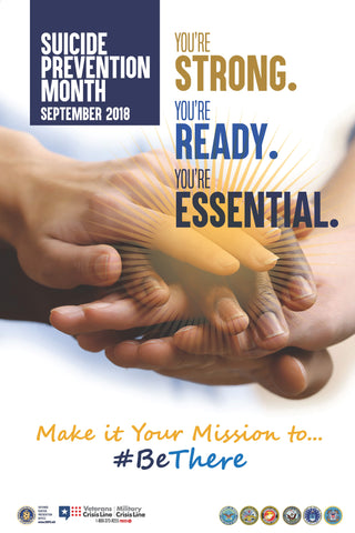 2018 Suicide Prevention Month Poster - Digital Download