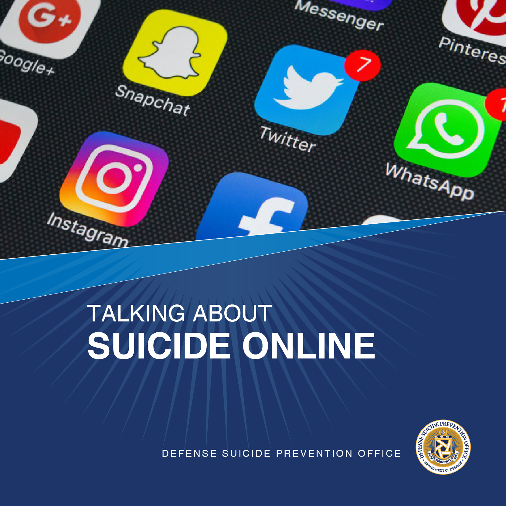 Talking About Suicide Online - High Resolution